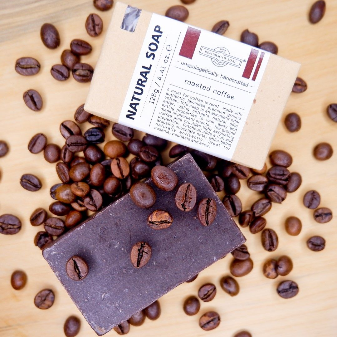 Natural Soap Bar - Roasted Coffee - Republic of Soap