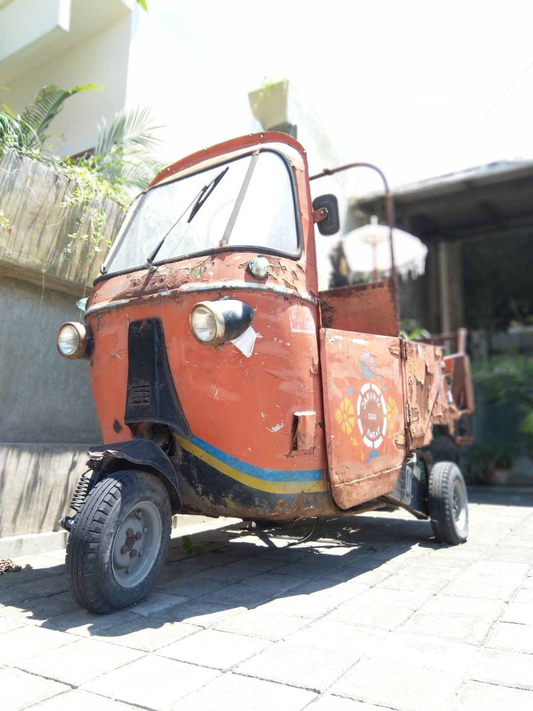 Republic of Soap - rusted bajaj