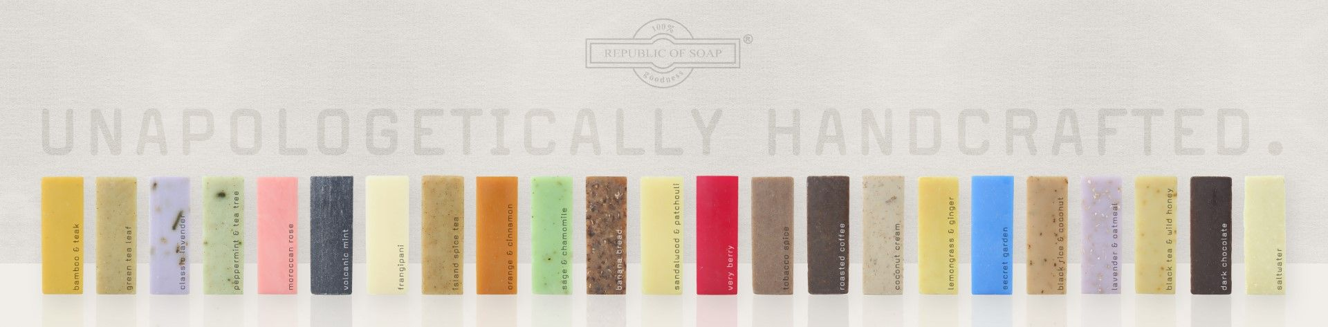 Republic of Soap Back to Basics Soap Line