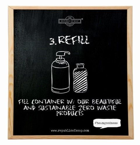 Republic of Soap - Zero Waste Bali Refill Station Cosmetics